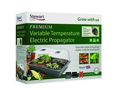 £98.99 • Buy Stewart Premium Large Electric Variable Temperature Plant Seed Propagator