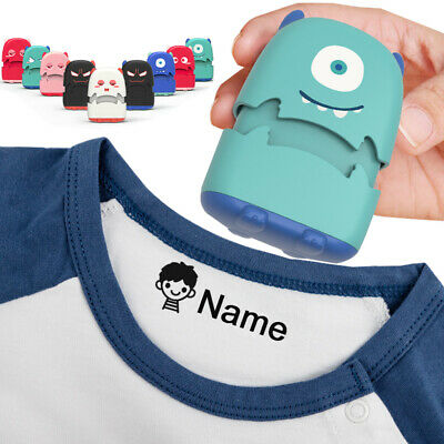£7.49 • Buy Baby Name Stamp Kids DIY Monsters Seal Student Clothes Chapter Security Toys
