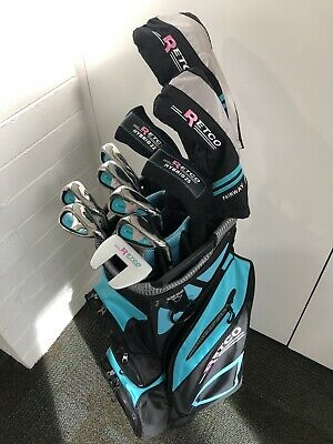 AU599 • Buy Retco GTX LADIES Deluxe Golf Graphite Package -14 Hole Cart Bag, Putter & Covers