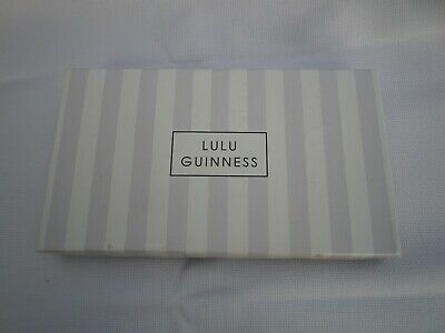 £19.99 • Buy Lulu Guinness Coin Purse New In Box Black