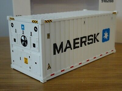 £24.19 • Buy Diecast Master Maersk Fridge 20f Shipping Container Truck Load Model 91026b 1:50