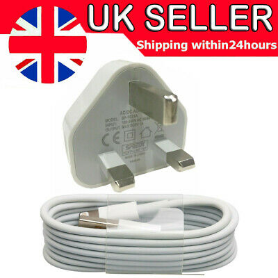 £2.24 • Buy 100% Genuine CE Charger Plug & USB Cable For Apple IPhone X 8 7 6 6+ SE(2020) XS