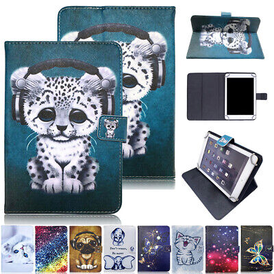 £11.69 • Buy Leather Flip Stand Case Cover Universal For IPad Samsung Galaxy Lenovo 7/10.1
