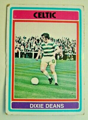 £1.99 • Buy Topps Chewing Gum Inc. John Dixie Deans, Celtic. Card No. 1