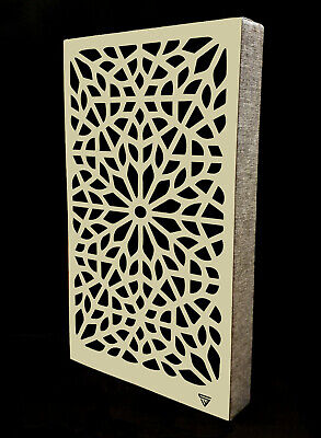 £150 • Buy Two Venetian Sound Proof Panels From SKS Acoustics Ltd - EARTH Thick Wool