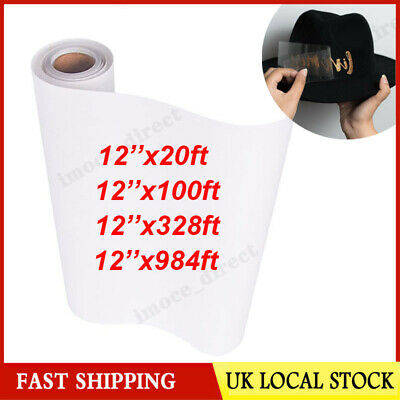 £5.66 • Buy Clear Vinyl Application Tape For Car Wall Craft Art Decal Transfer Paper Roll UK