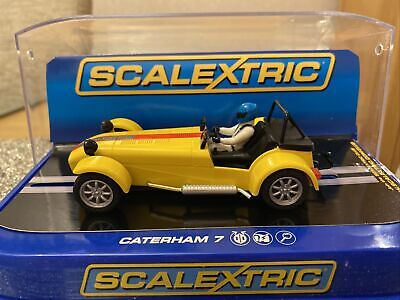 £44 • Buy Scalextric Caterham 7 Limited Edition Yellow 1/32 Scale Slot Car