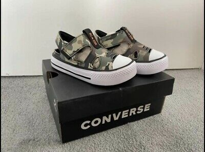 £15 • Buy Converse Camouflage Sandals Trainers Infant Size 6