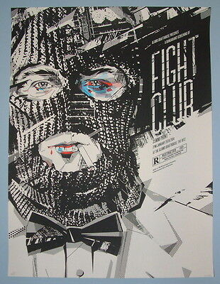 £109.68 • Buy Fight Club Delicious Design Poster Print Signed Numbered Mondo Tyler Durden
