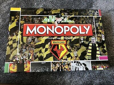 £29.95 • Buy Watford Football Club Monopoly Board Game - Complete
