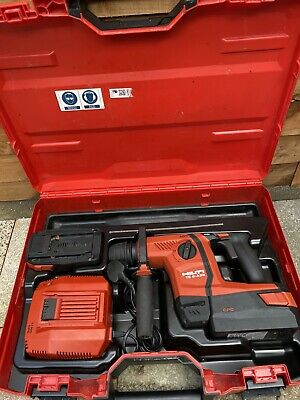 £599 • Buy Hilti TE6-A36 AVR Cordless Drill SDS, 2× Li-on Batteries & Charger