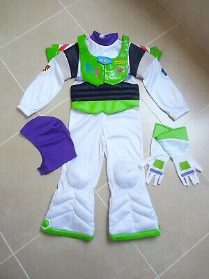£23.50 • Buy DISNEY STORE Buzz Lightyear Costume With Light-Up Wings & Arm Blaster 5-6 Yrs