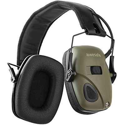 £57.55 • Buy Awesafe Electronic Shooting Earmuffs Ear Defenders Noise Reduction Sound Safety