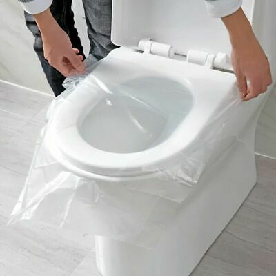 £6.49 • Buy 50pcs Disposable Toilet Seat Covers Paper Travel Hygienic Sanitary Waterproof