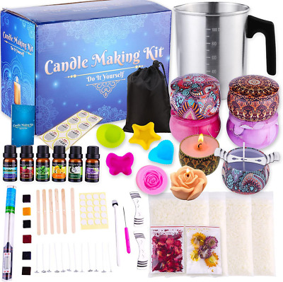 £17 • Buy Candle Making Kit With Soy Wax And Melter Art & Craft  For Small Business