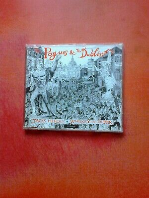 £7.50 • Buy THE POGUES & THE DUBLINERS Jack's Heroes / Whisky In The Jar 3 Track CD Single!
