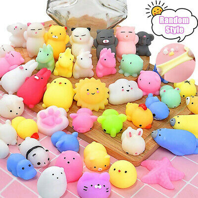 AU14.90 • Buy Mochi Squishy Pack Kids Squeeze Fidget Toys Stress Relief Christmas Easter Party