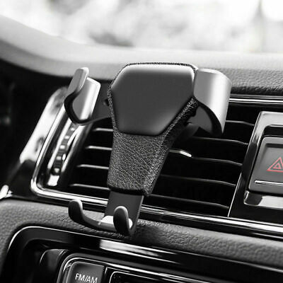 AU9.17 • Buy Universal Car Gravity Phone Holder Air Vent Mount Stand Cradle For Smart Phone