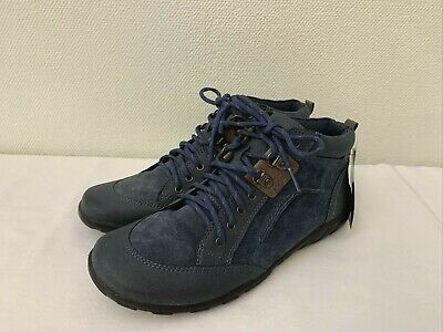 £0.99 • Buy New Old Stock - Clarks 'Odinka Tulip' - Navy Suede Laced Ankle Boots  UK 7 EU 41