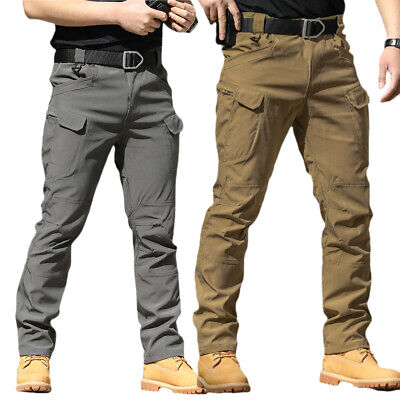 £20.29 • Buy Mens Cargo Work Military Trousers Casual Pants Outdoor Trekking Hiking Bottoms