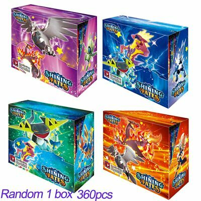 $27.68 • Buy 360 Pokemon Cards Shining Fates Card Booster Box Trading Game Battle Action Toys