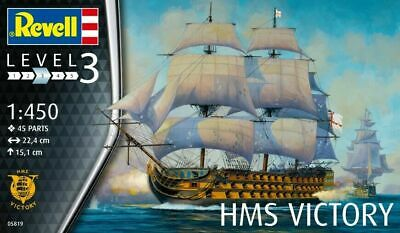 £9.22 • Buy  Revell 1:450 Scale Model Kit  Admiral Nelson Flagship (HMS Victory)  RV05819