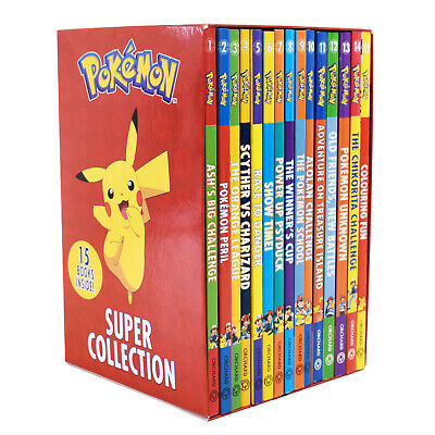 £25.99 • Buy Pokemon Super Collection Books 1-15 Box Set By Tracey West - Ages 9-14-Paperback
