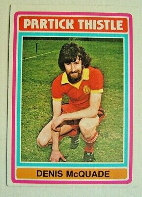 £1.99 • Buy Topps Chewing Gum Inc. Denis McQuade. Partick Thistle -  Card No.39