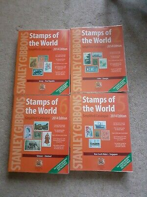 £60 • Buy 2014 Stanley Gibbons Stamps Of The World Books