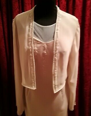 £20 • Buy Mother Of The Bride Dress And Jacket  Size 16