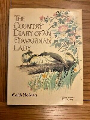 £10 • Buy The Country Diary Of An Edwardian Lady By Edith Holden Hardback Book 1977
