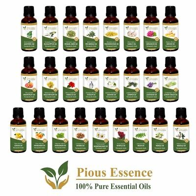 AU83.94 • Buy 100%Pure Essential Natural Oil For Cosmetic, Aromatherapy, Soap,Fragrance -100ML
