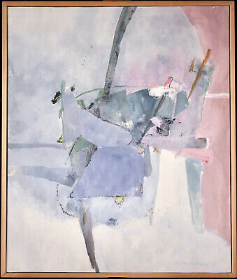 £26.56 • Buy Carmelo Castellano (1925-2012) Signed Fine French Abstract Oil Canvas