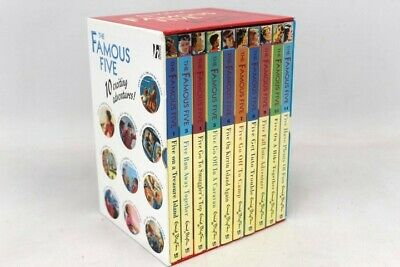 £4.99 • Buy THE FAMOUS FIVE 10x Exciting Stories By Enid Blyton Box Set - G23