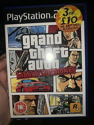£1 • Buy Grand Theft Auto: Liberty City Stories (PS2, 2006)