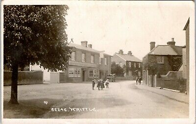 £9.99 • Buy Postcard Writtle Nr Chelmsford Essex The Rose And Crown Pub Early Village RP