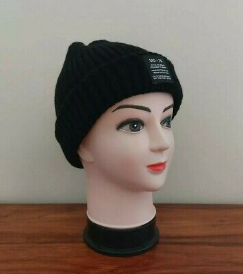 £12.95 • Buy Adult | Urban Outfitters | Uo-76 | Black Beanie Hat | Onesize - Bnwt