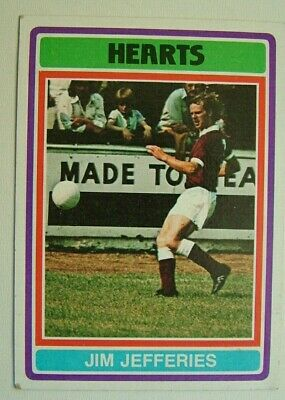 £1.99 • Buy Topps Chewing Gum Inc. Jim Jefferies, Hearts.  Card No.45