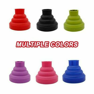 AU13.89 • Buy Universal Silicone Hair Dryer Diffuser Cover Foldable Travel Professional Salon