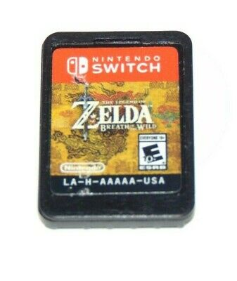 AU36.95 • Buy The Legend Of Zelda: Breath Of The Wild (Game Only) - Nintendo Switch