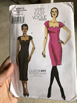 £3 • Buy Vogue Sewing Pattern Skirt Suit V8612 Size 6-12