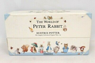 £11.50 • Buy THE WORLD OF PETER RABBIT By Beatrix Potter Complete Original Tales 1-23 - W28