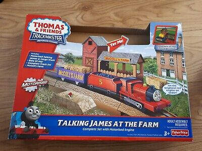 £29.99 • Buy Fisher Price - Trackmaster Thomas & Friends - Talking James At The Farm Set