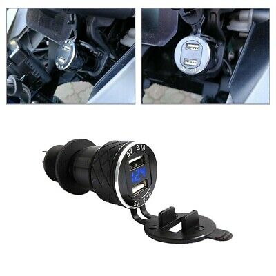£9.07 • Buy For BMW R1200GS Triumph Tiger Hella DIN To 4.2A Dual/2 Motorcycle USB Charger
