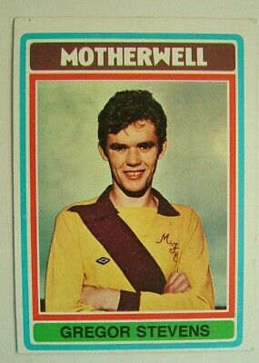 £1.99 • Buy Topps Chewing Gum Inc. Gregor Stevens, Motherwell.  Card No.53