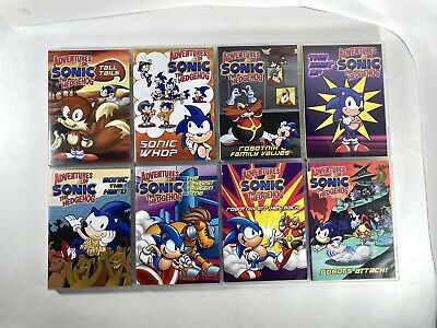 £21.94 • Buy Adventures Of Sonic The Hedgehog DVD - Lot Of 8 - Animated Series