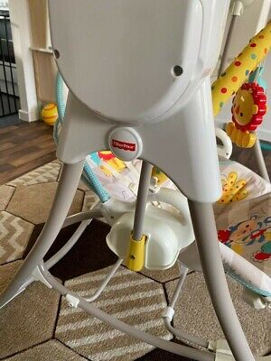 £48 • Buy Fisher Price 3 In 1 Bouncer, Swing And Chair. Auto Swings And Plays Music