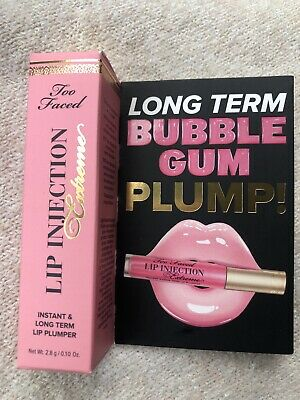 £10 • Buy Too Faced Lip Injection Extreme Bubble Gum Plump 2.8g