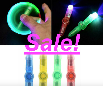 £2.66 • Buy Fidget Spinner Light Up Pen - Sensory Toy Autism Stress Relief ADHD Kids Games⭐️
