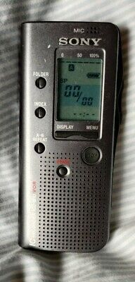 £9.99 • Buy Sony ICD-B10 IC Voice Recorder Dictaphone Handheld Dictation Machine